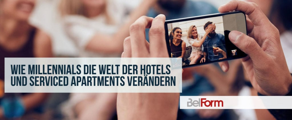 Millennials Erwartung an Serviced Apartments