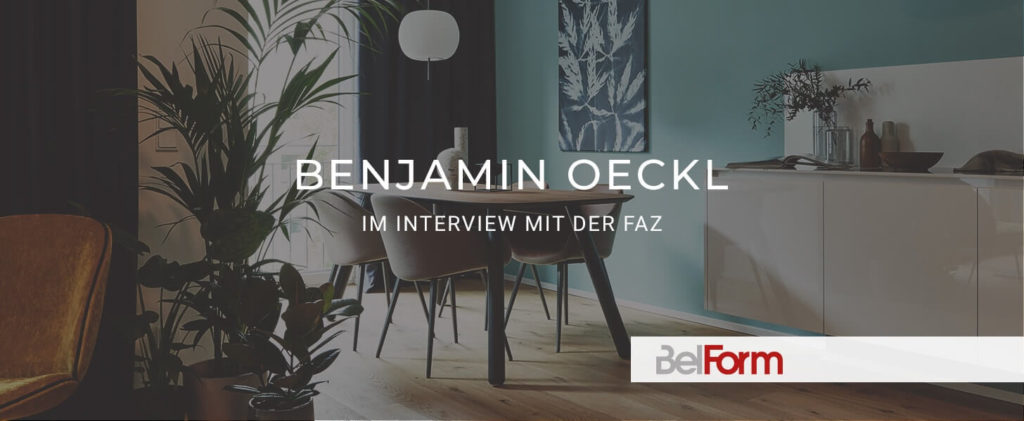 BelForm Interview in der FAZ